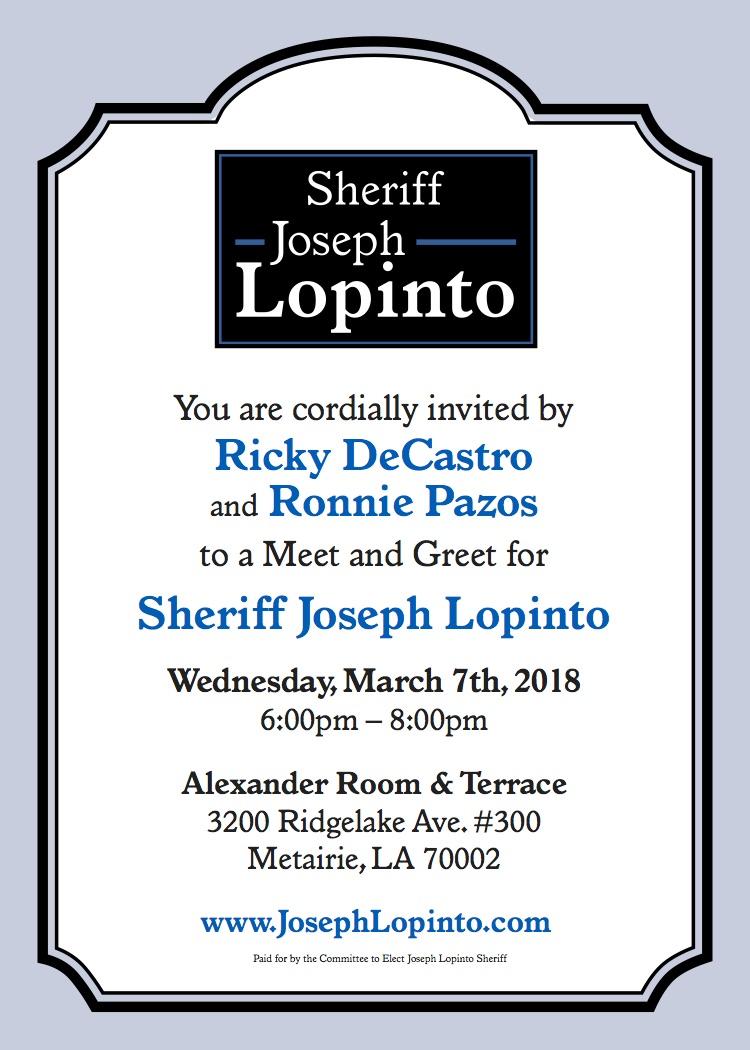 News Joseph Lopinto